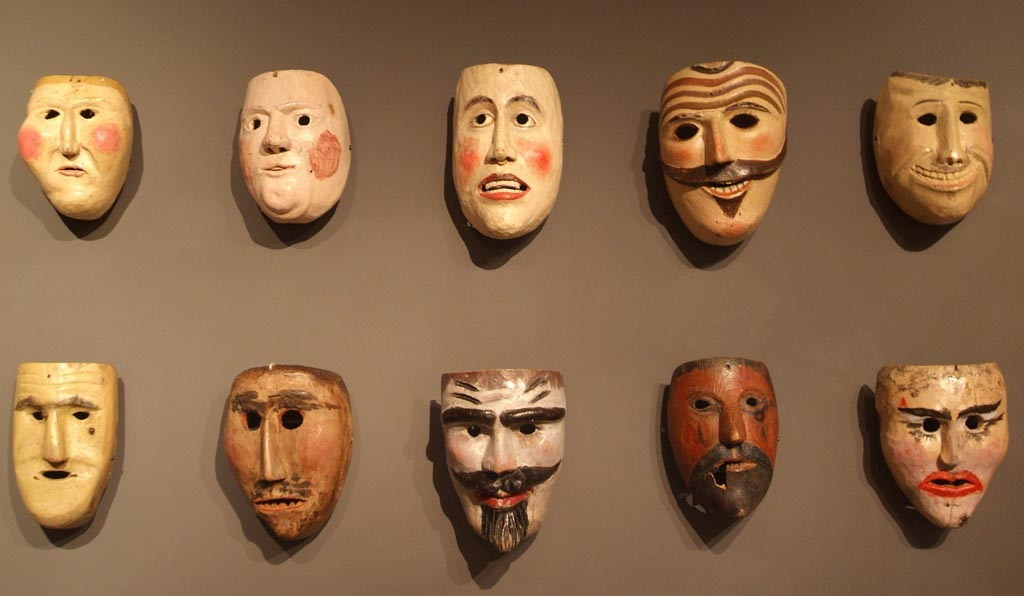 Cave canem: analogia della maschera