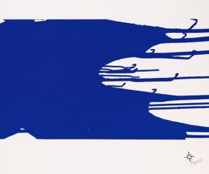 Klein Monochrome bleu sans titre (coulée) (1957)