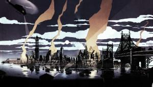 Gotham City disegnata da Grant Morrison